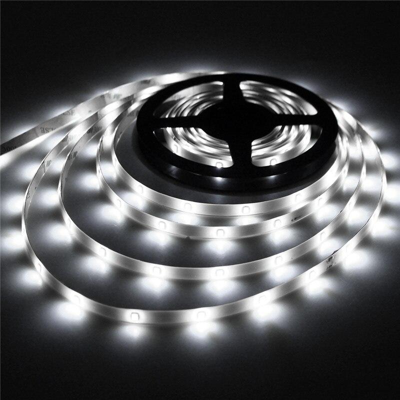 Movido A Energia Solar Super Bright LED 2835 Luz de Tira Luzes LED String Solar Flexível À Prova D' Água Auto ON/OFF Festival de Natal decoração