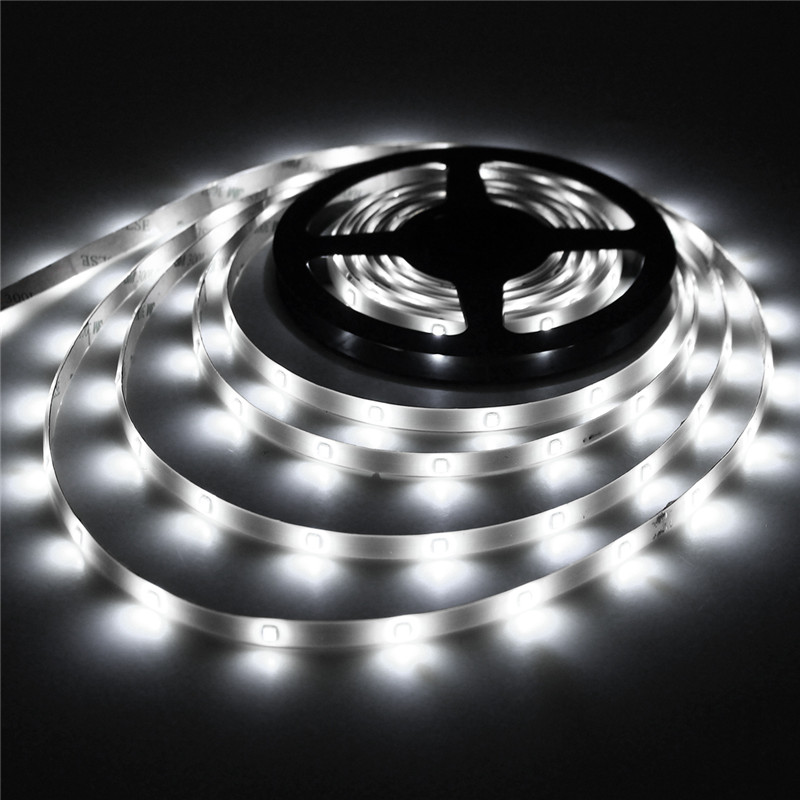 Solar Powered Super Bright 2835 LED Strip Light LED Lights Flexible Solar String Waterproof Auto ON/OFF Festival Christmas Decor