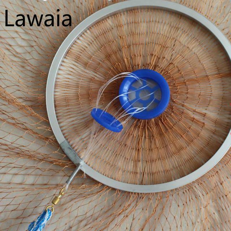 Lawaia Ψάρεμα Net Diamter 2.4M-7.2M Υψηλής - Αλιεία - Φωτογραφία 3