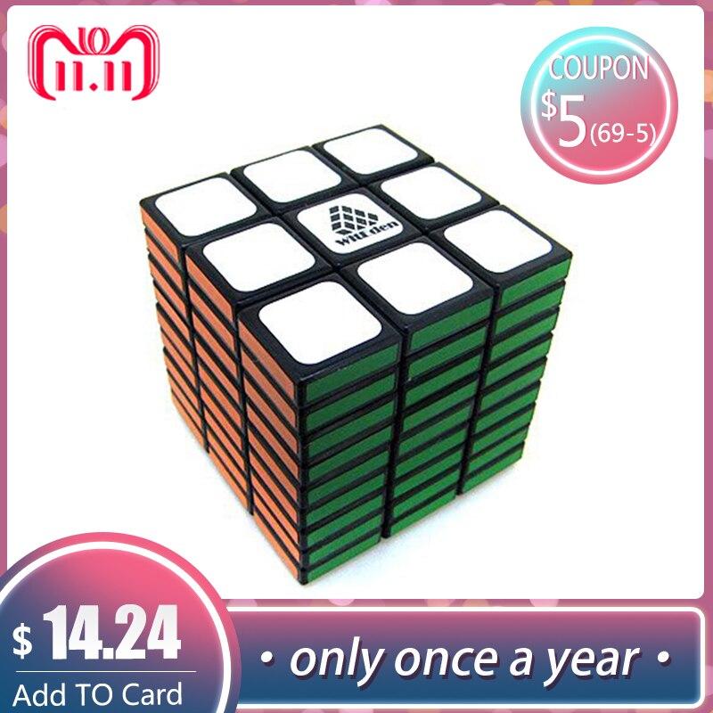 Leadingstar WitEden 3x3x9 Professionale Magico Cubo di 58mm strano a forma di Cubi Magici Anti-Stress di Apprendimento educativi Giocattoli Classici