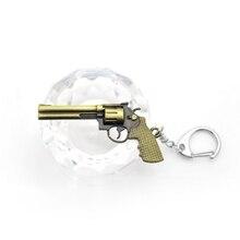 Original new Novelty Counter Strike Revolver Guns Keychain Men Trinket CS GO Awp Rifle Sniper Key Ring Jewelry Souvenirs Gift цены онлайн