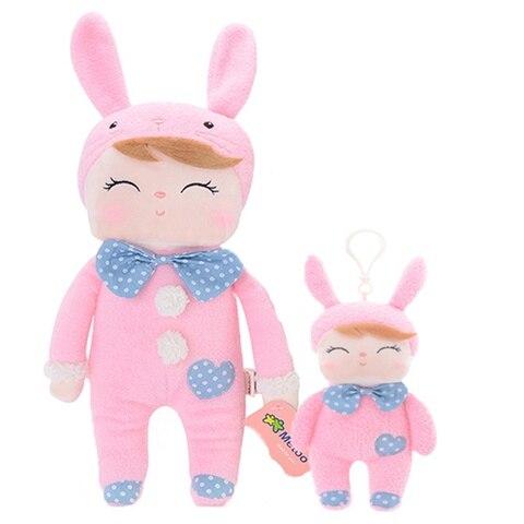 Metoo 2pcs Angela Rabbit Dolls Girl Baby Gift Plush Stuffed Gift Toys for Kids Children kawaii Brand New Multan