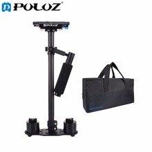 PULUZ S60T Профессиональный Портативный Мини Углеродного волокна Ручной Стабилизатор Камеры DSLR Видеокамера Стабилизации Steadicam стабилизатор для камеры