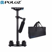 PULUZ S60T Professionelle Portable Kohlefaserrohr Mini Handkamera Stabilizer DSLR Camcorder Video Stabilisierung Steadicam
