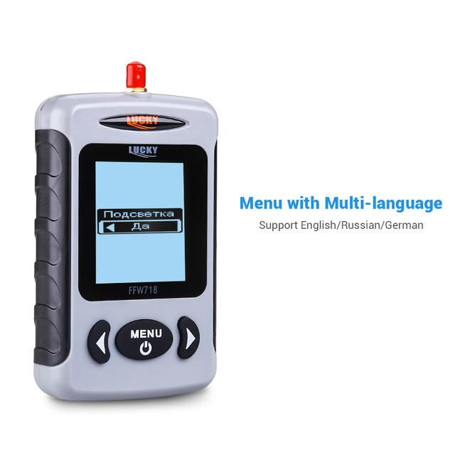 Wireless Portable Fish Finder 40M/120FT Sonar Depth Sounder