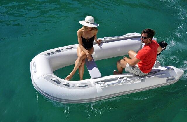 Flat bottom dinghy