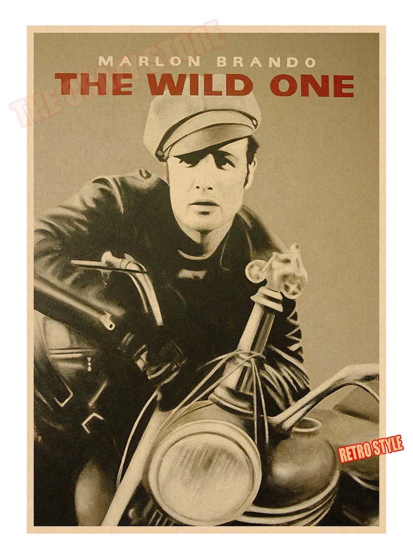 Wild One The Marlon Brando Movie Poster
