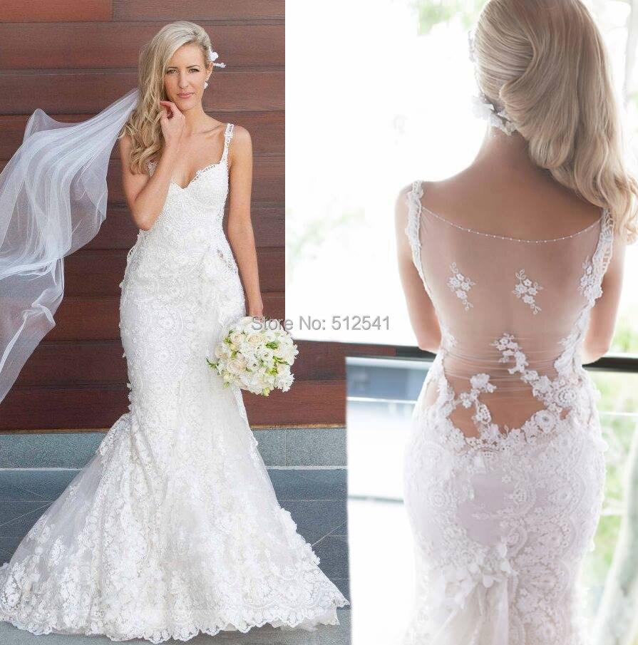 Lace Trumpet Wedding Dress Promotion-Shop for Promotional Lace ...