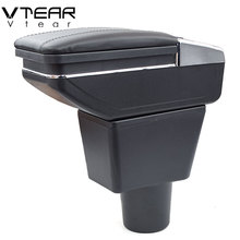 Vtear For LADA XRAY Armrest Interior Center Console Arm Rest Strorage Box Car Styling Decoration Accessories Parts 2018 2019