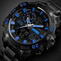 Quartz Digital Men's Watch Luxury Fashion Sport Wristwatch Waterproof Stainless Watches Men Clock Male reloj hombre SKMEI 2018