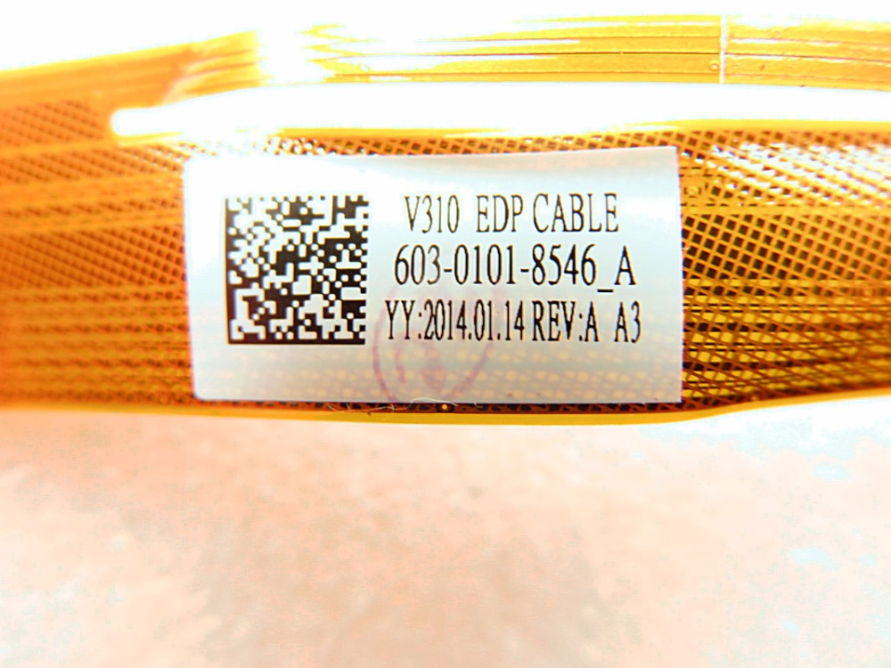 New for SONY SVF11N SVF11N15SCP V310 EDP cable LCD screen 603-0101-8546-A