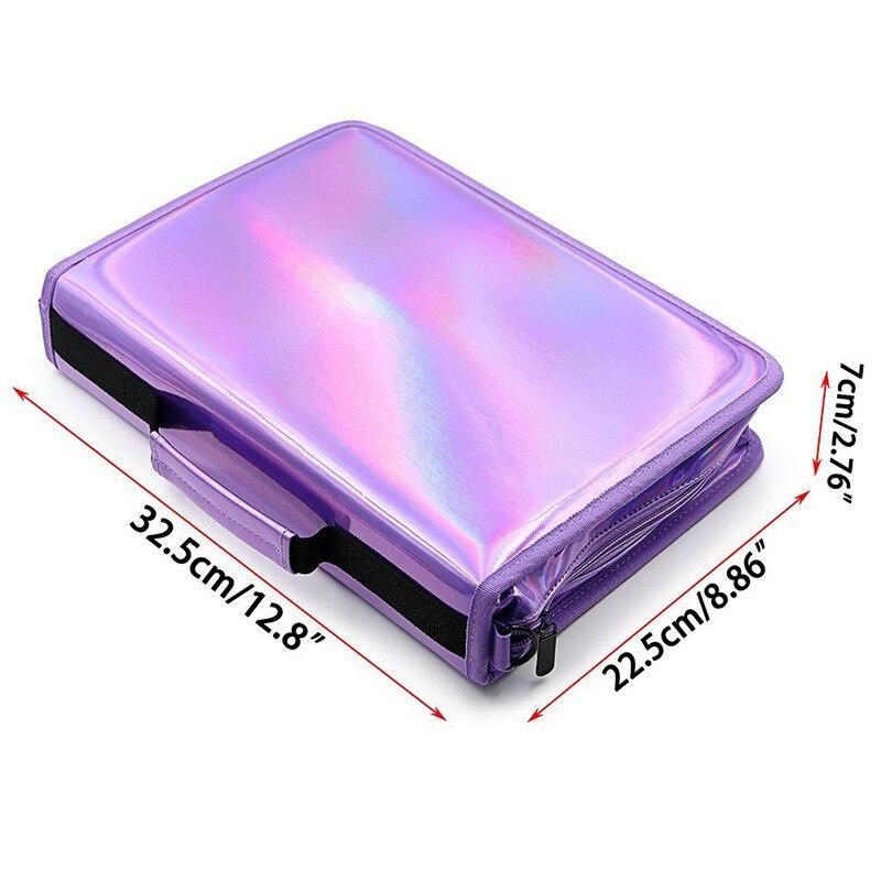 luxo caneta saco caixa escritorio escola papelaria bolsa 03
