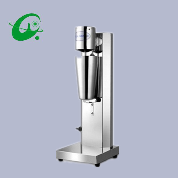 Stainless Steel Household Milkshake Machine Single Head Commercial Milk Tea Shop Electric Mixer Milk Bubble Machine 220v commercial single double head milkshake machine electric espresso coffee milk foam frother machine bubble maker
