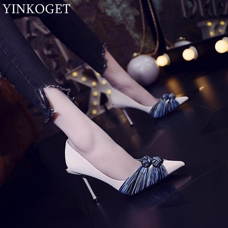 Pointu as Hauts De Chaussures Talons Bout Femmes Mode Yinkoget À As Picture Mariage Sexy Confortable Qualité Supérieure Picture Parti uJFK1l3cT