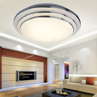 Círculo conduziu a luz de teto sala estar lâmpadas modernas breve varanda luzes do quarto lâmpadas