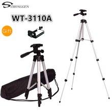 Tripod With 3 Way HeadTripod for Nikon D7100 D90 D3100 DSLR  NEX 5N A7S  650D 70D 600D WT 3110A