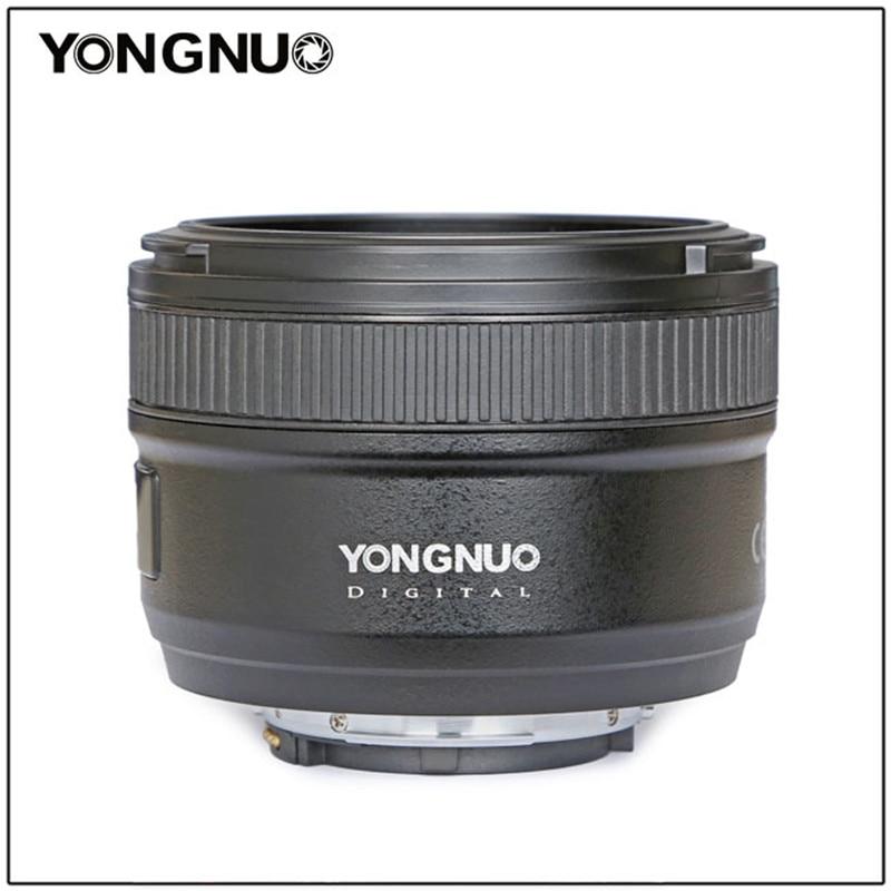 YONGNUO 50mm YN50mm F1.8N Grande Ouverture Auto Lentille de Focalisation Pour objectif Nikon d5300 d3400 d7200 d3100 d3200 d90 d5100 d5600 d5200