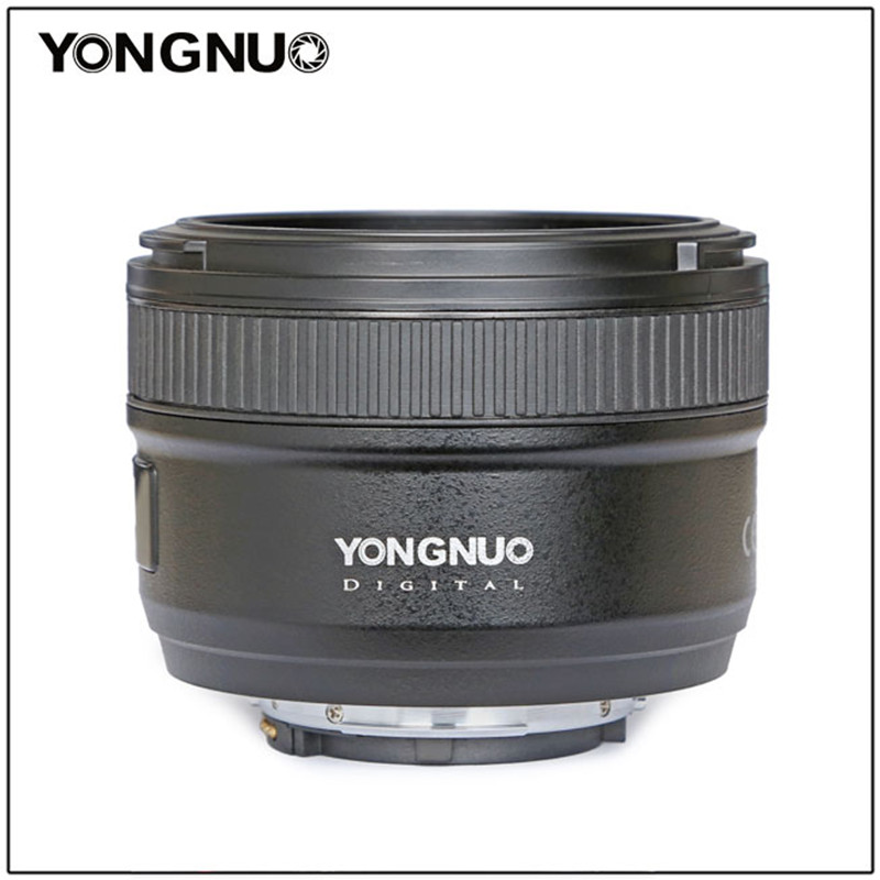 YONGNUO 50mm YN50mm F1.8N Large Aperture Auto Focus Lens For Nikon lens d5300 d3400 d7200 d3100 d3200 d90 d5100 d5600 d5200 voking vk 8mm f3 5 fisheye ultra wide lens for nikon d3400 d5300 d3200 d5200 d5600 d5000 d7200 d60 d850 with aps c full frame