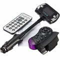 Nuevo Kit Car MP3 Player Wireless Bluetooth Manos Libres Transmisor FM Reproductor de MP3 USB SD LCD Remoto # ED #