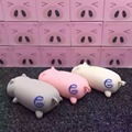 New 10000mah Lovely pig Power Bank Portable Powerbank Battery pig Cartoon Design Charge For iphone5 6s xiaomi mi5