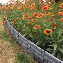 Сад кирпич цементное ограждение цемент Камень Плесень бетонный цветок во дворе газон плесень производитель RT99
