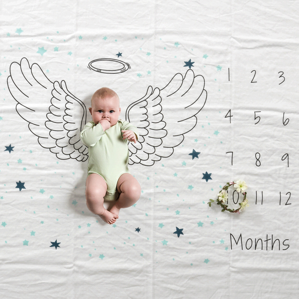 Baby Playmat Photography Props For Mat Developing Baby Activity Gym Swaddle Sack Outfits Rug Sheet Mats Play Baby Room Decor