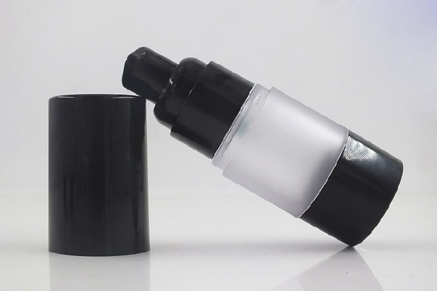 500 x 15ml 30ml 50ml Refillable Plastic Airless Spray Bottles 1oz Portable Frost Cosmetic Makeup Water