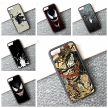 Spiderman and Venom Phone Case  iPhone 5 5s 5c SE 6 6s Plus 7 7 plus