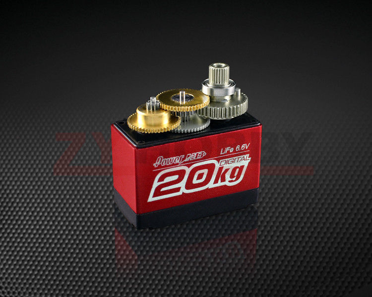 LF-20MG Standard Digital High Torque RC Servo For Airplane 1:10 / 1:8 RC Cars Robots Steering Servo jx pdi 6221mg 20kg large torque digital standard servo for rc model