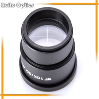 Wide field High Eye-point WF10X Eyepiece with Reticle Micrometer for Compound Microscope (30MM)