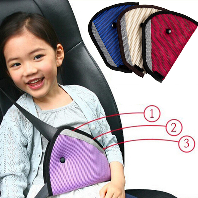 Triangle Baby Car Safety Seat Belts Adjuster Clip Accessories Child ...