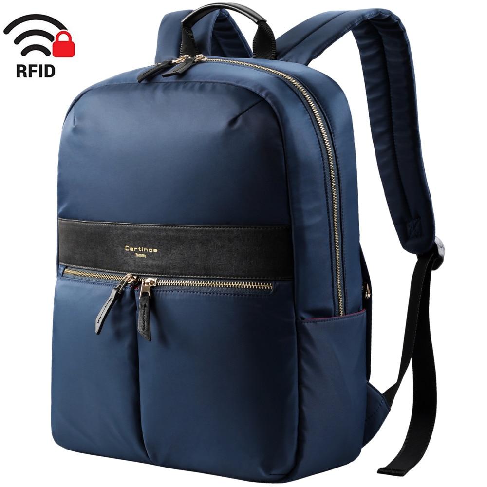 RFID Blocking Design Lightweight Backpack Business Travel Backpack College Daypack School bag Women 14 15 inch Laptop Backpack xiaomi 90fun brand leisure daypack business waterproof backpack 14 laptop commute college school travel trip grey