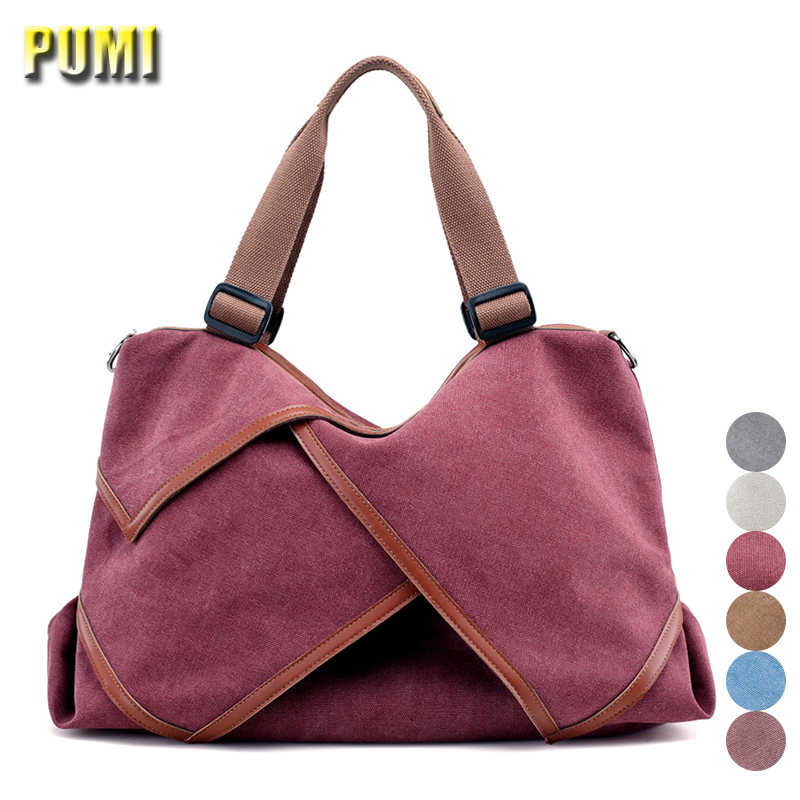 Canvas Shoulder Messenger Bag Women Casual Tote Handbag Female Travel Bag for Girls Large Capacity Vintage Style New Design Hobo стоимость