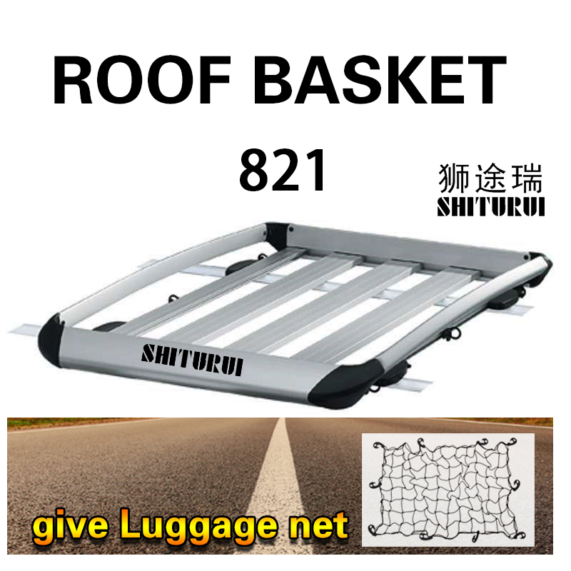 Expedition 821 Roof luggage basket Roof frame Outdoor Self driving Cross country Tou Truck luggage rack SUV Universal funds