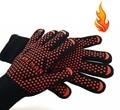FlameMan CHURRASCO Grelhar Luvas De Cozinha, Resistente Ao Calor Extremo para Antebraço Proteção Extra (1 peça)