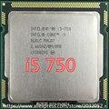 Оригинальный Intel Core i5 750 Процессор (2.66 ГГц/8 МБ Кэш/LGA1156) Обои Для Рабочего I5-750 CPU (работает 100% бесплатная Доставка)