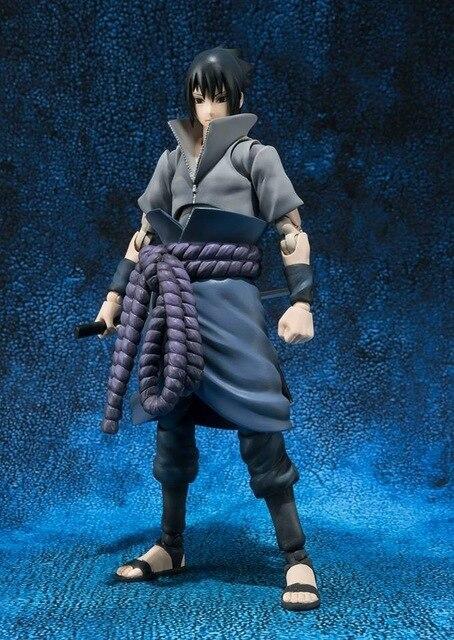 15cm Naruto Uchiha Sasuke Action Figure