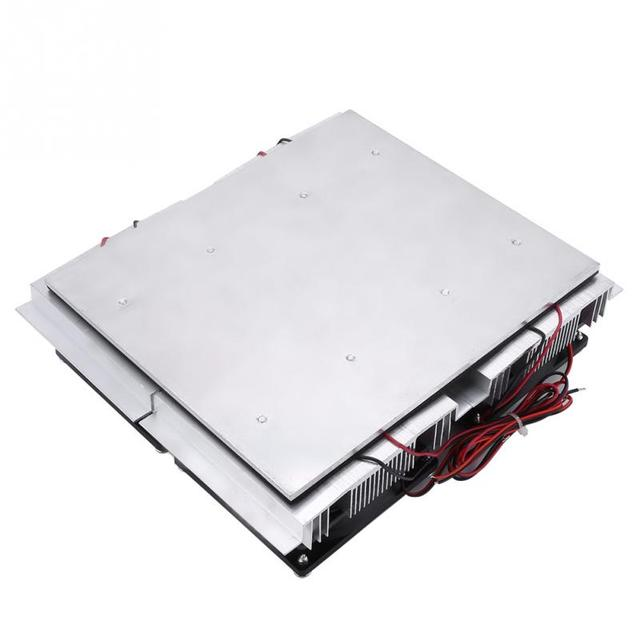 240W Semiconductor Refrigeration Thermoelectric  Cold Plate Cooler with Fan