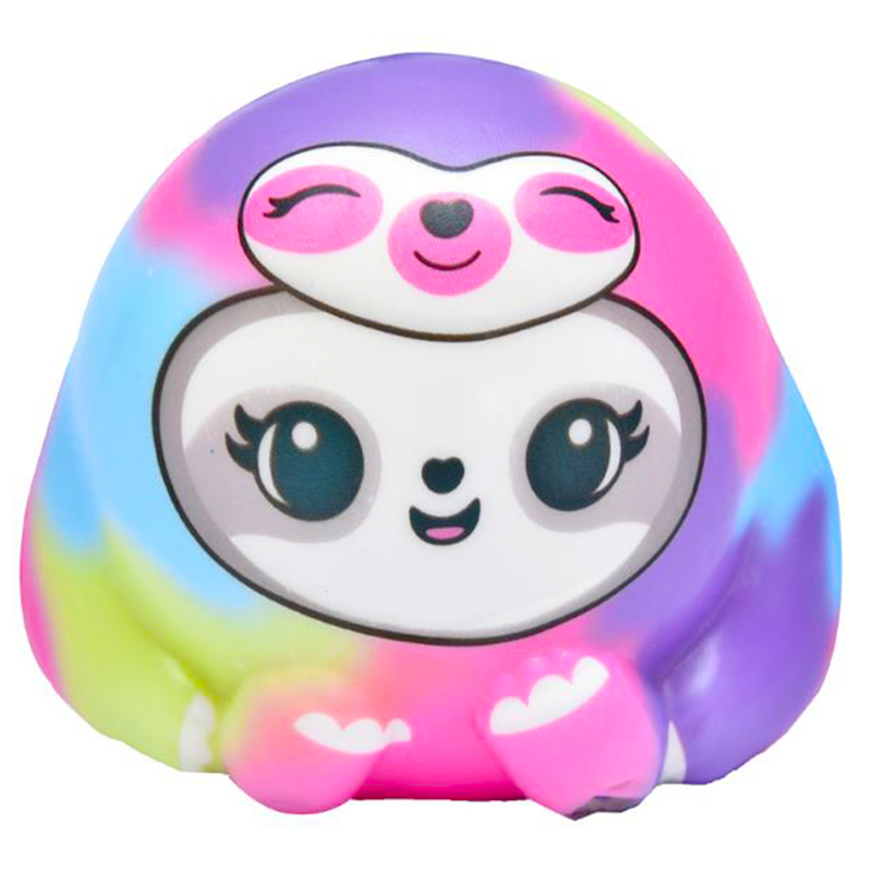Jumbo Colorful Sloth Squishy Slow Rising Kawaii Doll Scented Stress Relief Soft Squeeze Toy Funny Kid Baby Toy Gift for Children in Squeeze Toys from Toys Hobbies