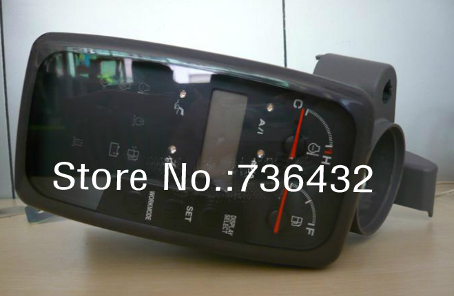 Free shipping Genuine monitor assembly 4488903 for Hitachi excavator ZAX110 ZAX120 ZAX160 ZAX200 1 ZX200 Hitachi