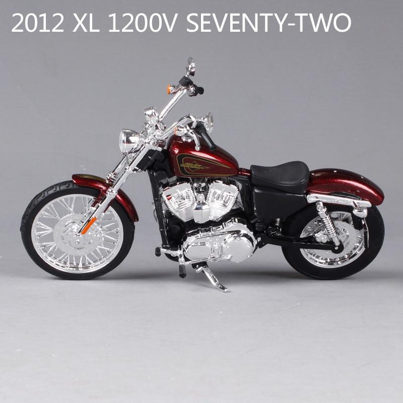 Maisto XL1200V seventy-two motorcycle model 1:12 scale Alloy motorcycle racing model motorcycle model Toys Kids Toys Model Toys