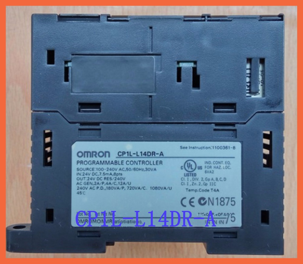 8 DI 6 DO Relay CP1L-L14DR-A AC100-240V PLC Programmable Logic Controller New Original L14DR все цены