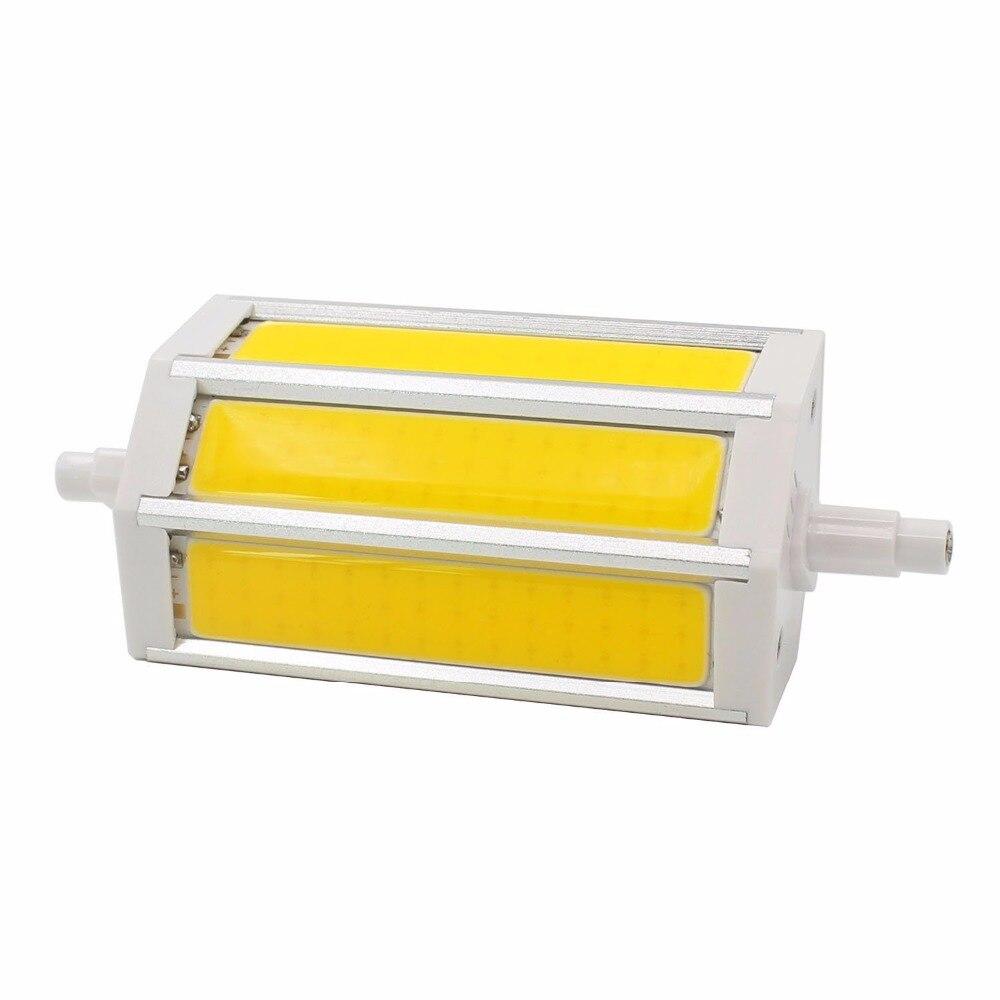 Buy r7s j118 cob led bulbs 78mm 10w 118mm for Led r7s 78mm 20w