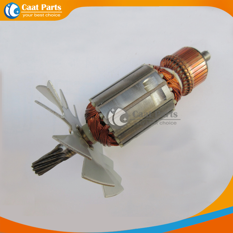 Free Shipping!  AC 220V 10-Teeth Drive Shaft Electric Circular Saw Armature Rotor For Makita 5103N 5201N  , High-quality!