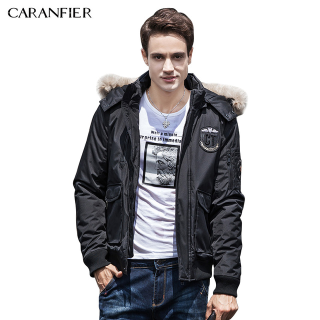 CARANFIER 2017 Mens Winter Jackets Fashion Design Brand Parka Men ...