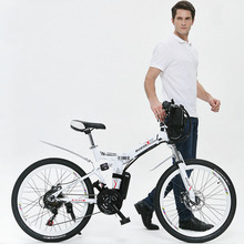 2014 Real Top Fasion 31 – 60 Km Alloy 26inch 200 – 250w 36v 26 Inch Folding Electric Bicycle with 36v12A Lithium battery
