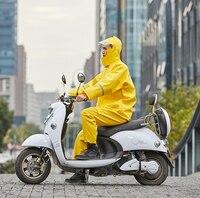 Emergency Raincoat with Pants for Men Outdoor Suit Split Adult Women Waterproof Trench Coat Men Motor Cycle Rain Coat R5C170