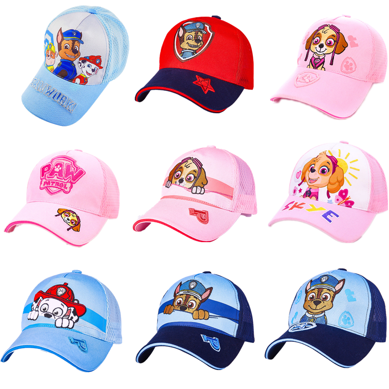 New Paw Patrol Hat Headdress Breathable Block The Sun Cool Summer Baseball Cap 3-10 Year Old Patrulla Canina Action Figures GiftNew Paw Patrol Hat Headdress Breathable Block The Sun Cool Summer Baseball Cap 3-10 Year Old Patrulla Canina Action Figures Gift