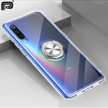For Xiaomi mi 9 9 se mi 8 lite Case Soft Transparent Protective Ring Stand Magnetic Back Cover for Xiaomi redmi note 7 pro Cases soft case protective transparent back cover for xiaomi red note 2