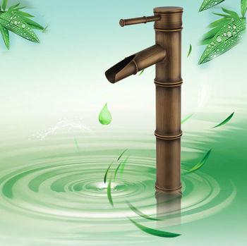 Bathroom Bamboo basin sink Mixer surface Antique bronze Vintage faucet Lavabo tap spout AIYILIANG cozinha torneira banheiro NEW
